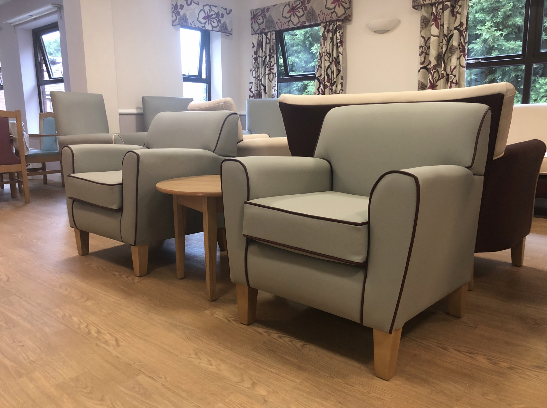 Healthcare Lounge Installations